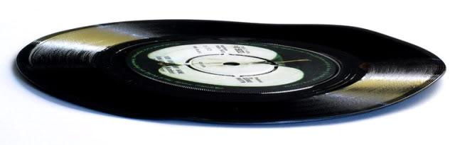 warped vinyl record example